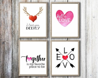 Love Printables - Get all 4 Printables for a Discount