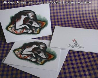 5 Greeting Cards - Pilot - Blank Inside