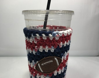 Patriots medium coffee cozy