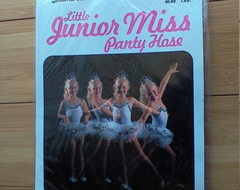 Little Junior Miss Pantyhose Suntan