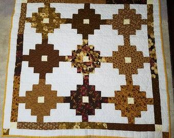 Hand Quilted, Lap Quilt, Handmade Quilt, Quilt, Handmade Lap Quilt,
