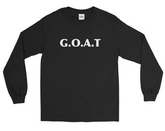 Goat Goat Signs Goat Charm Goat Art Print Goat Lover Design Goat Life Goat Love Gift Long Sleeve T-Shirt