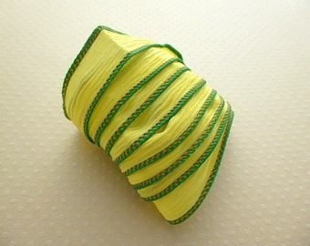 Ribbon color No. 987 hand dyed silk