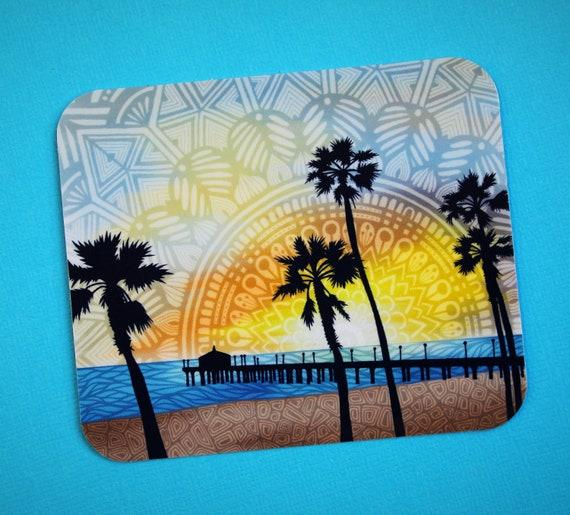 Beach Pier Sticker