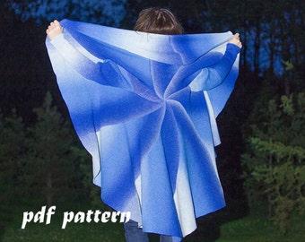 KNITTING PATTERN Women cardigan Plus size coat Knitting pattern Wool cardigan Hand knit oversize Woman plus size clothing Plus size cardigan