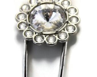 Swarovski Crystal cuff Bracelet 14mm