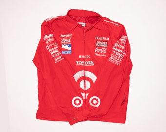 Target Racing Jacket - Lightweight - Big Logo Embroidery - Size: XL