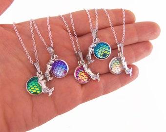Custom mermaid necklaces, custom mermaid necklace, personalized mermaid necklace, personalized mermaid necklaces, mermaid scale neckalce
