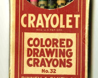 Crayolet Colored Drawing Crayons