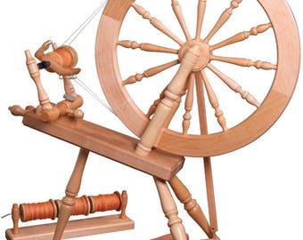 Ashford Elizabeth 2 Spinning Wheel - Lacquered