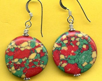 BOLD Colors Sterling Silver Earrings