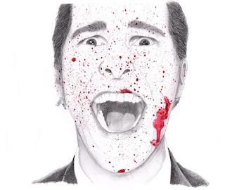Patrick Bateman // American Psycho // Art Print