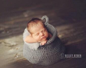 Yarn Basket Crochet PATTERN