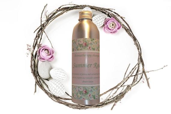 """Sulfate-free aromatherapy regenerating shampoo """"Summer Rose"""""""