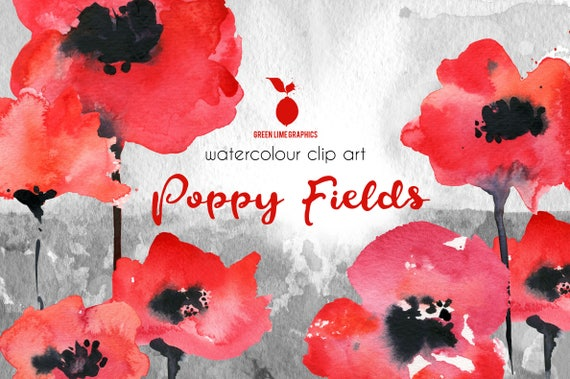 Poppies clipart remembrance day armistice day veterans day poppies clipart remembrance day armistice day veterans day clipart watercolour flower clipart digital paper poppy fields poppy mightylinksfo
