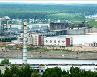 Poster, Many Sizes Available; Hydroelectic Power Station In Naberezhnye Chelny
