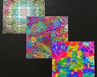 3 Lenticular GIF Prints Bundle