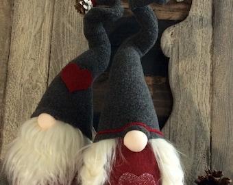"Swedish Tomte ""Olga"" Scandinavian Nordic female Nisse Gnome Woodland  Decoration  DaVinciDollDesigns Christmas Collection"