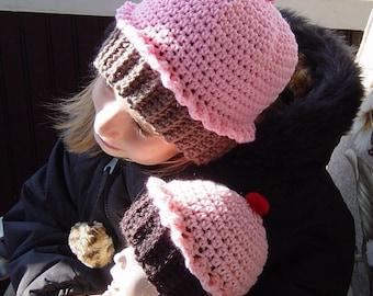 Crochet Pattern Cupcake Hat PDF