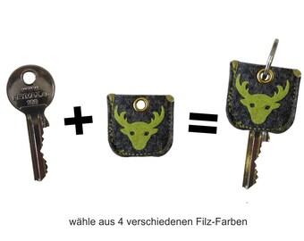 """keycover """"Schlüzi zur Krachledernen"""" deer"""