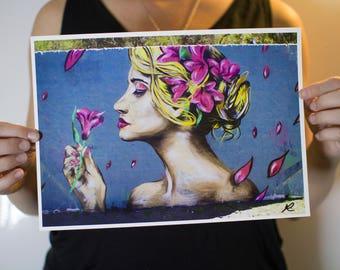 Pink Petals (Print A4)