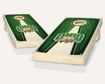 SALE - Ohio Stained Pyramid Cornhole Set, Birthday, Tailgate, Bachelor Party Gift for Men, Husband, Boyfriend, Father, Son