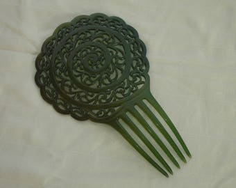 Old hair comb, early 20th century
