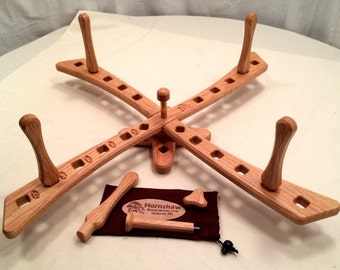 Windmill style - Oak Yarn swift - Skein Winder