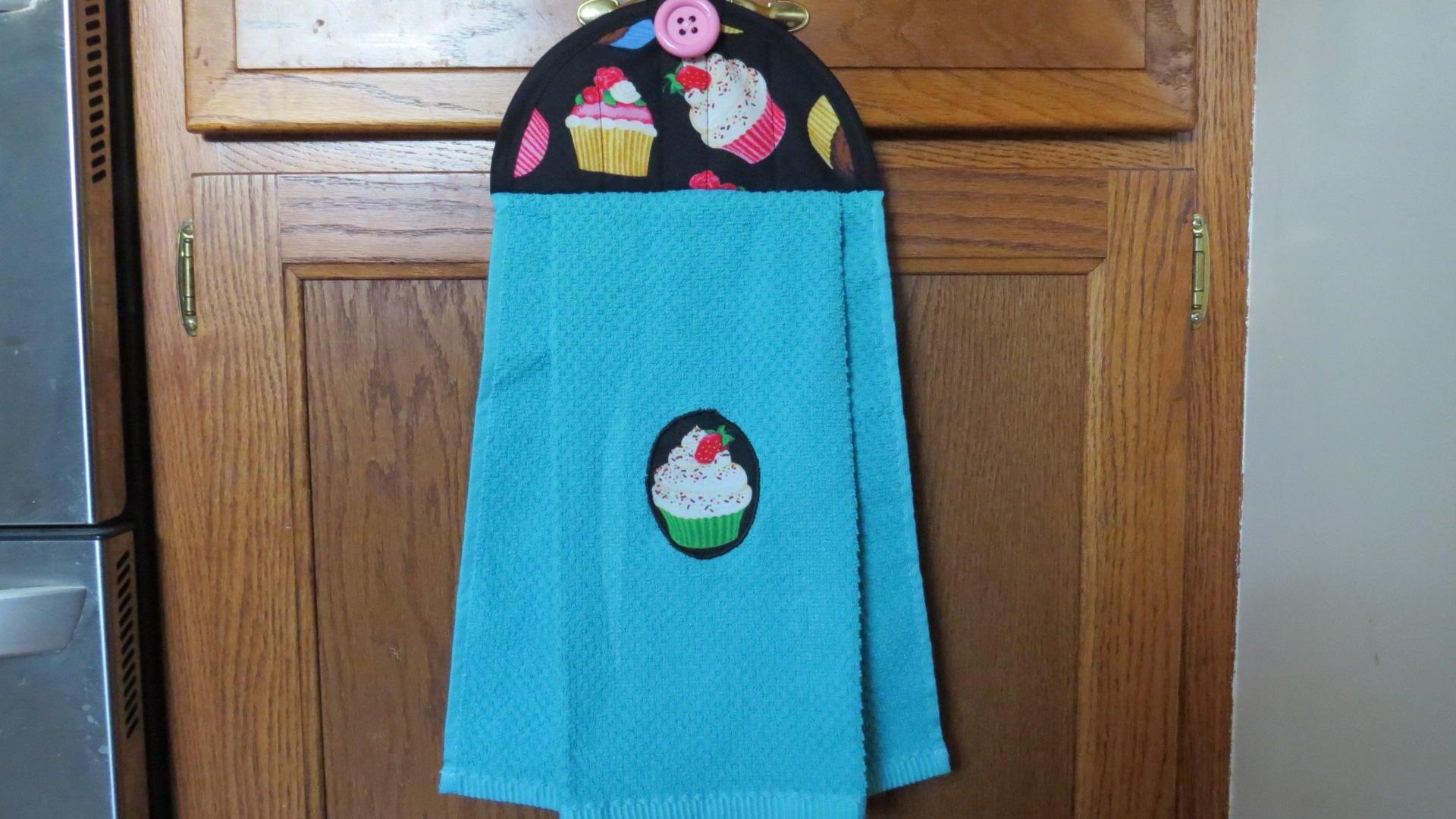 Hanging Kitchen Towel Cupcake Kitchen Towel Hanging Hand Towel