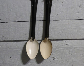 Pair of Old Spoons