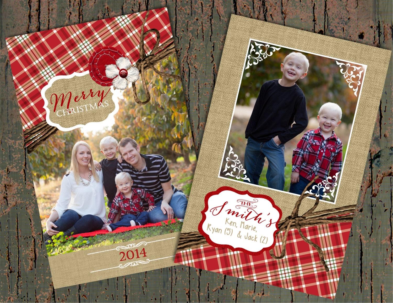 christmas cards plaid christmas cards red plaid christmas