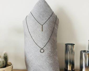 Double necklace Nocle