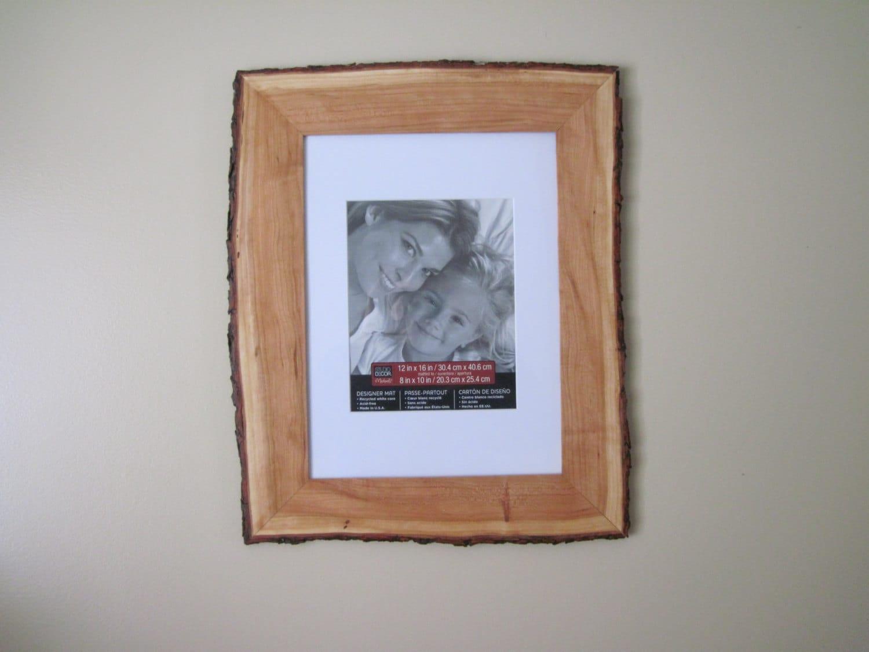 Natural borde cuadro marco cereza corteza madera borde marco madera ...