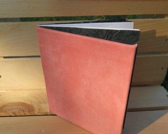 journal pink fabric