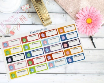 Realtor Planner Stickers Appointments | Realtor Stickers