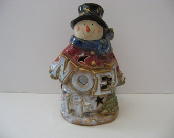 8' Snowman Tealight Candle Holder