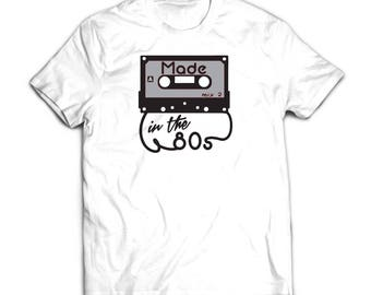 Made in the 80's.  100% Cotton T-Shirt Printed in FULL COLOR