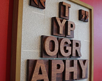Pre-lithographic days - typographic art