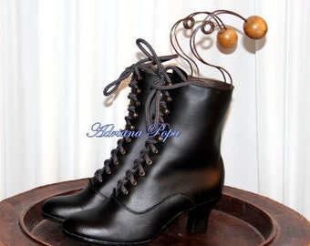 Granny Boots , Victorian Boots , Edwardian Boots , Peaky Blinders Boots , Ankle Boots , Dance Boots , Alternative fashion shoes