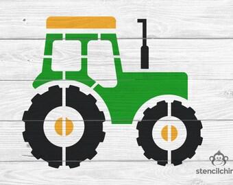 Tractor Stencil   Farm Stencil   DIY Art Stencil