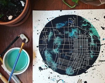 Map Painting