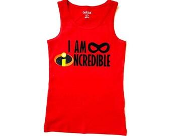 I am INCREDIBLE, incredible, Disney, super hero, super power