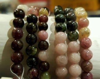 Rainbow Tourmaline Bracelet