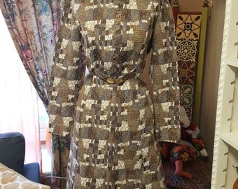 1960's Polyester Dress