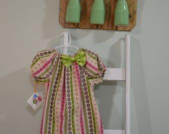Corduroy Peasant Dress- 3T- Toddler Girl Dress