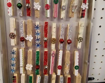 Gift tag holders/magnets