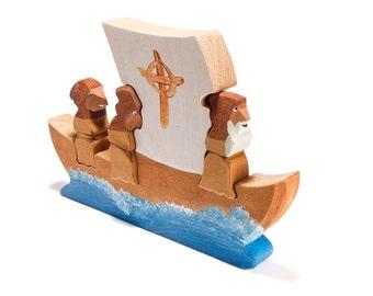 St. Brendan Voyage 3D jigsaw