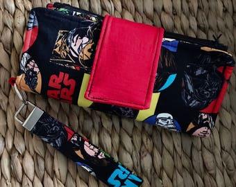 Star Wars Cash Envelope Wallet/ Zipper Envelope/ Dave Ramsey
