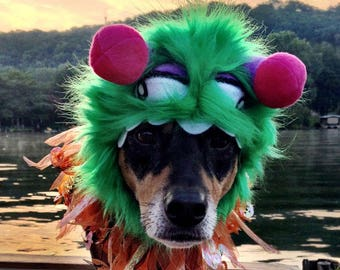 Monster Costume - Little Monster costume for dogs and cats (hat only)