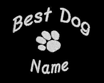 Dog Bandana, Bridesmaid or Best man, wedding w/Free Name